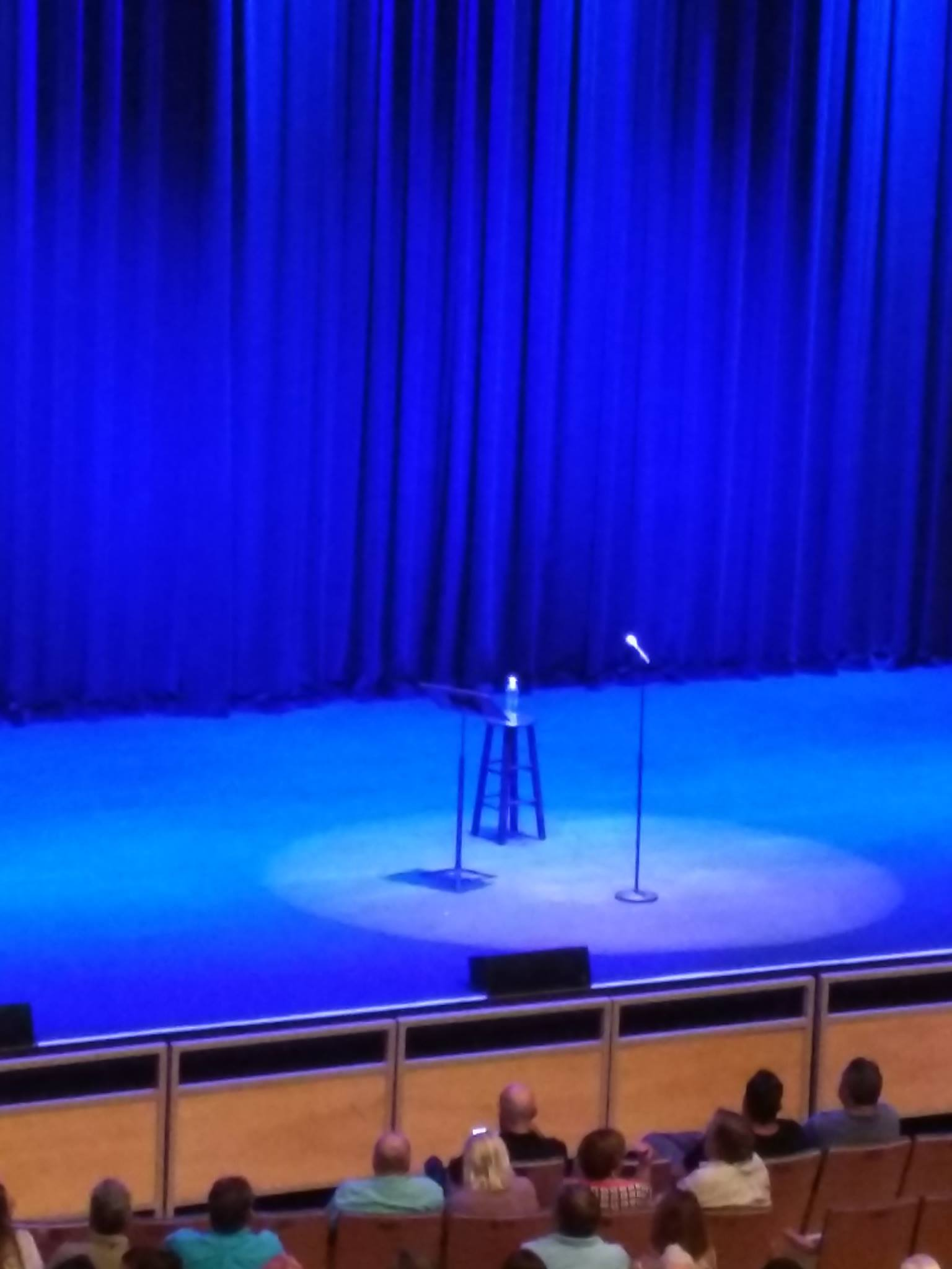 Waiting to see Bill Maher...
