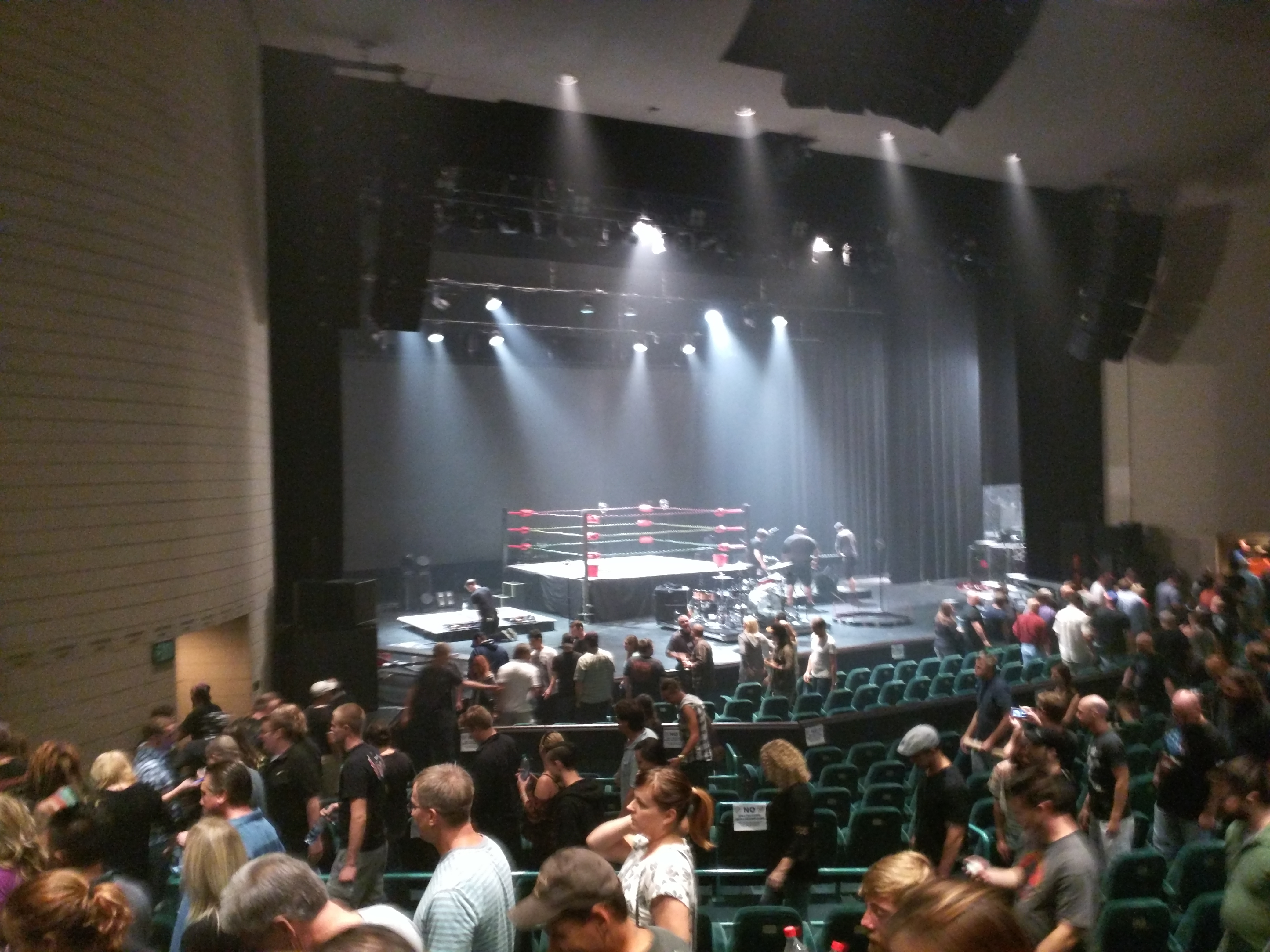 There was a Puscifer concert at Ruth Eckerd Hall in Clearwater FL We went and it was a crazy entertaining show For those keeping track that makes twice